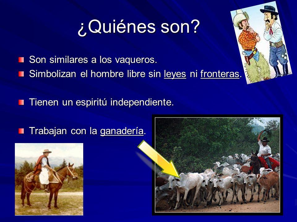 ¿Quiénes son Son similares a los vaqueros.