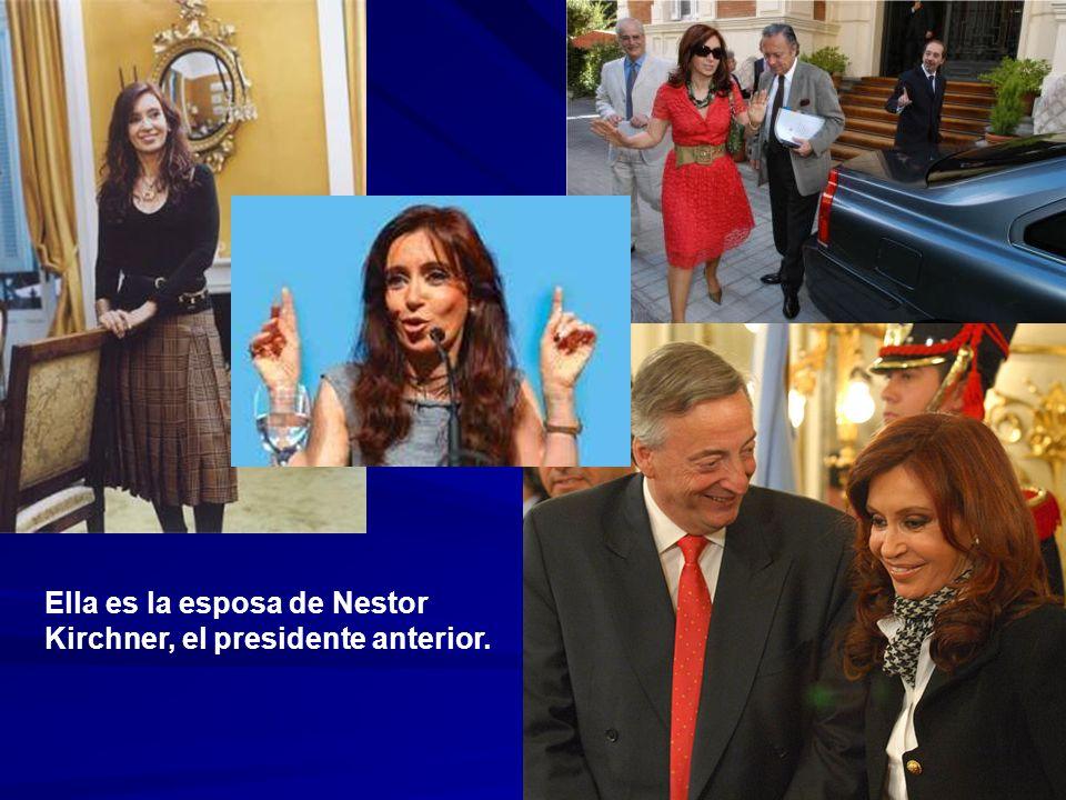 Ella es la esposa de Nestor