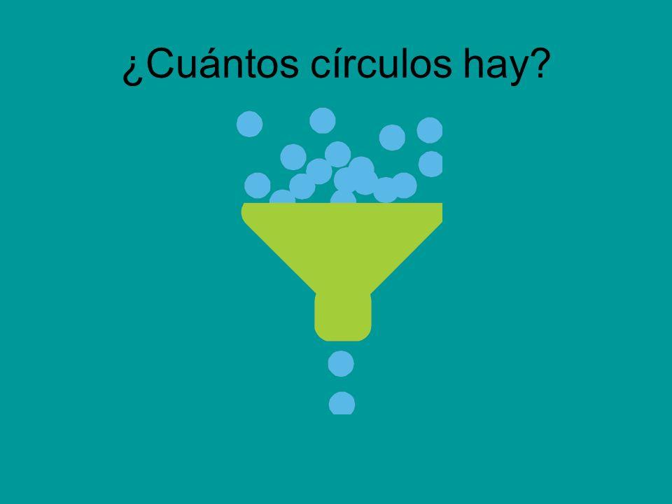 ¿Cuántos círculos hay