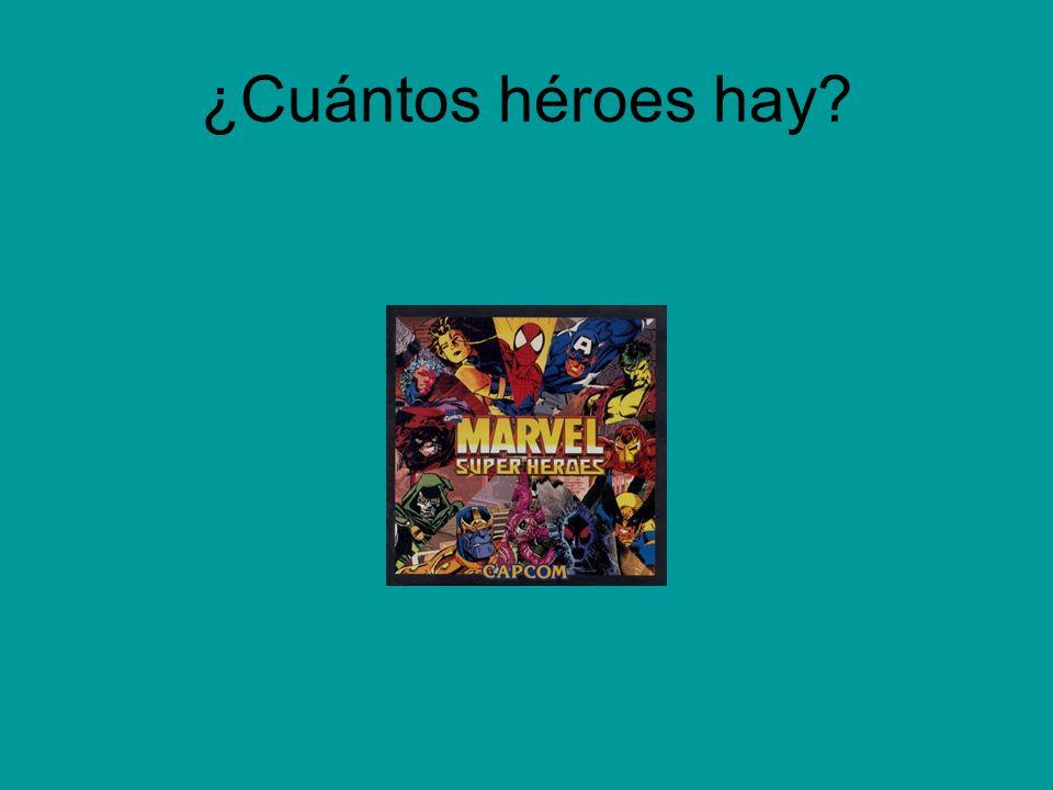 ¿Cuántos héroes hay