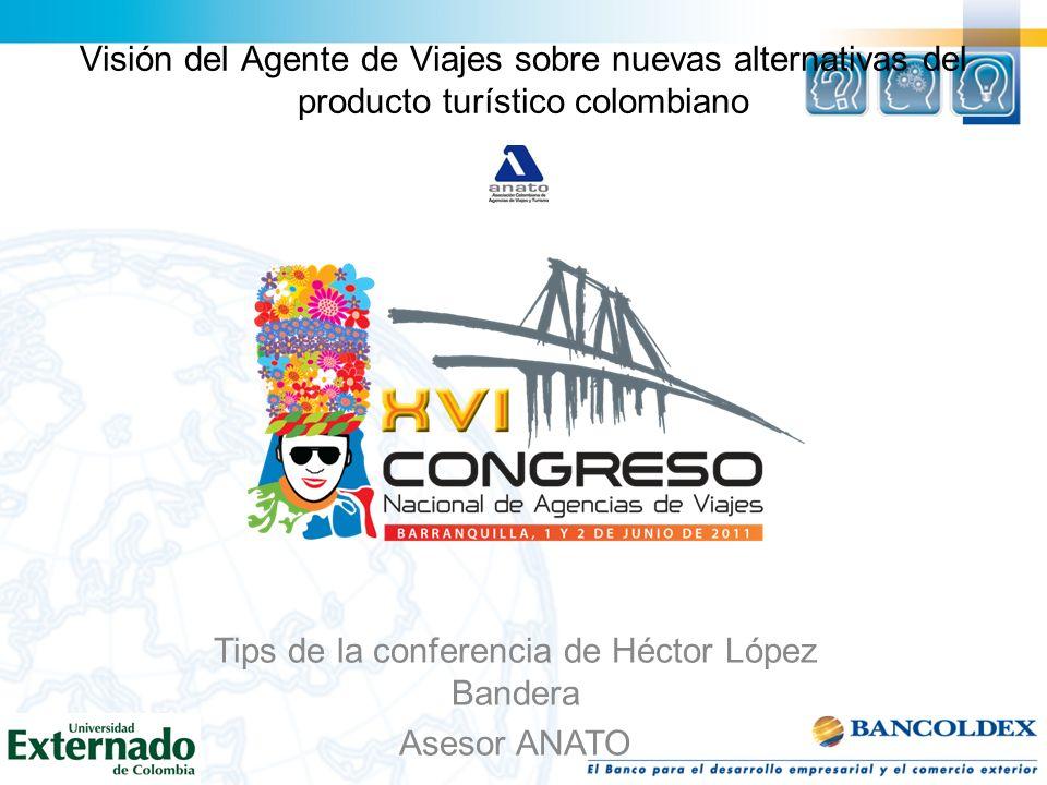 Tips de la conferencia de Héctor López Bandera
