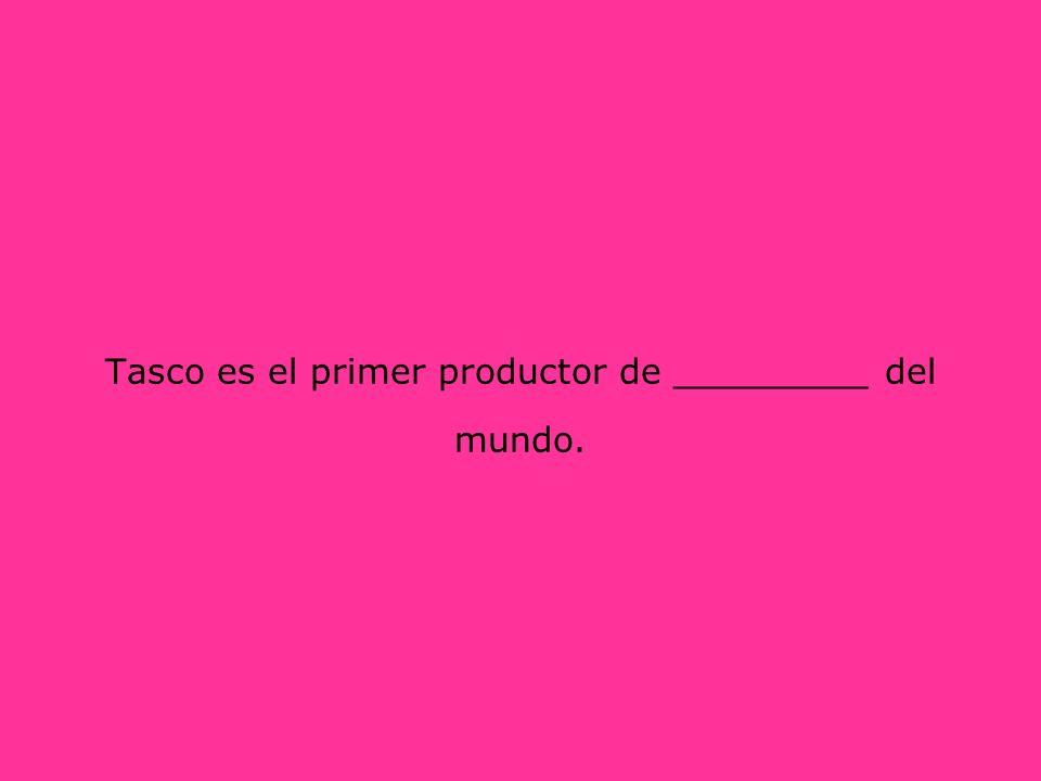 Tasco es el primer productor de _________ del mundo.