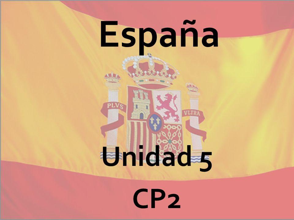 España Unidad 5 CP2