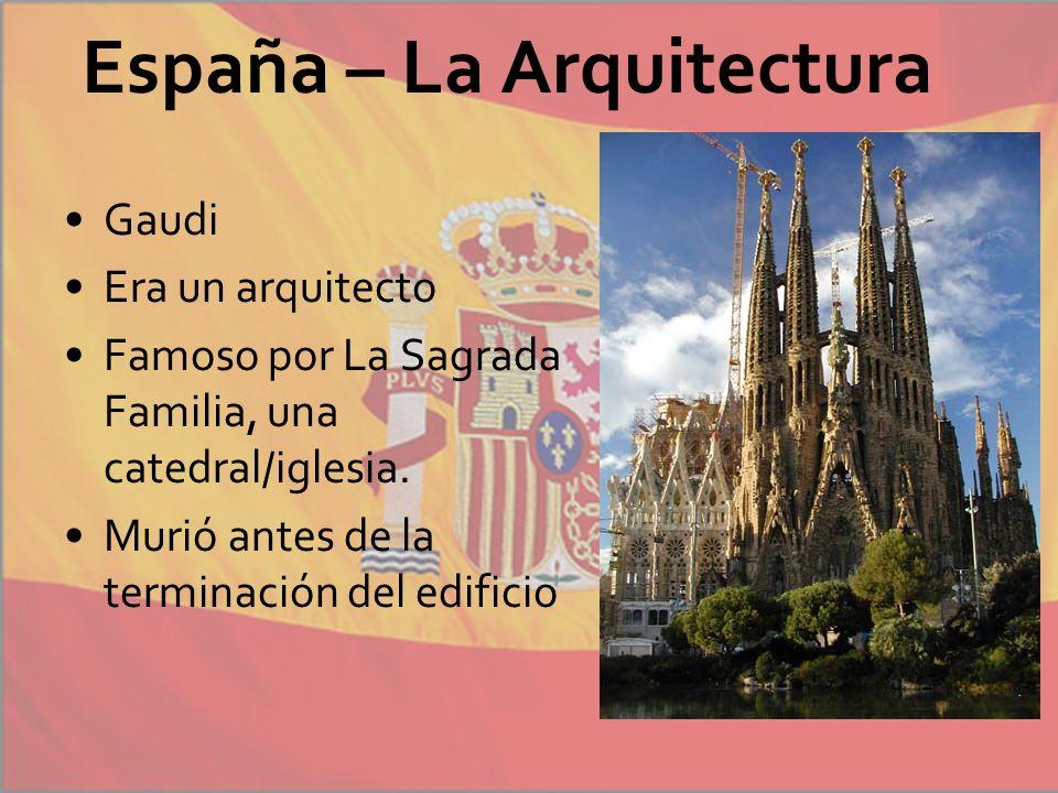 España – La Arquitectura