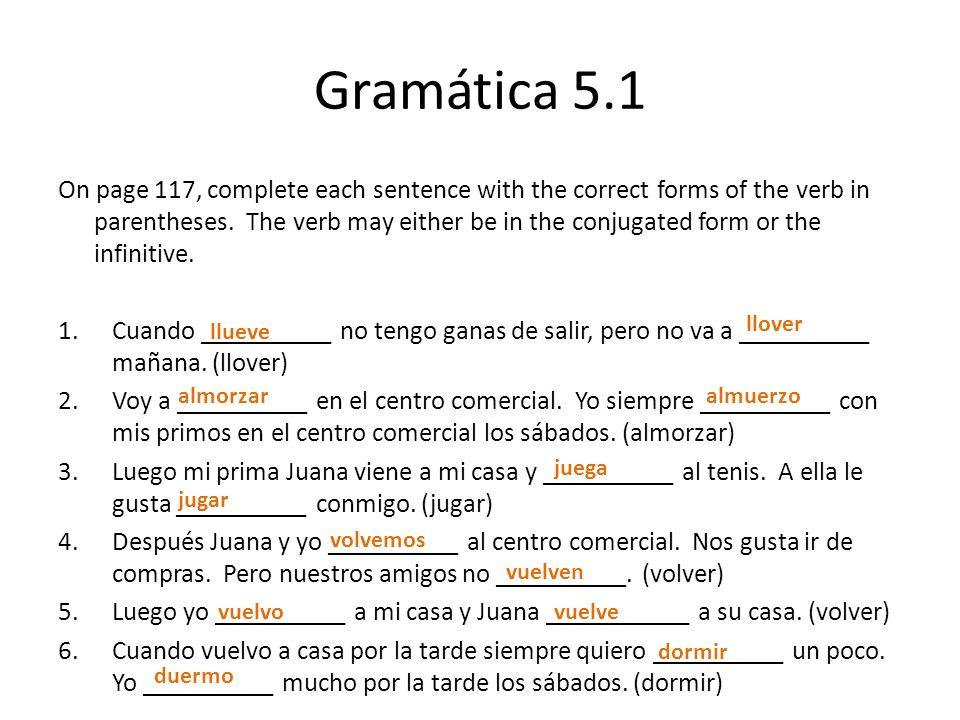 Gramática 5.1