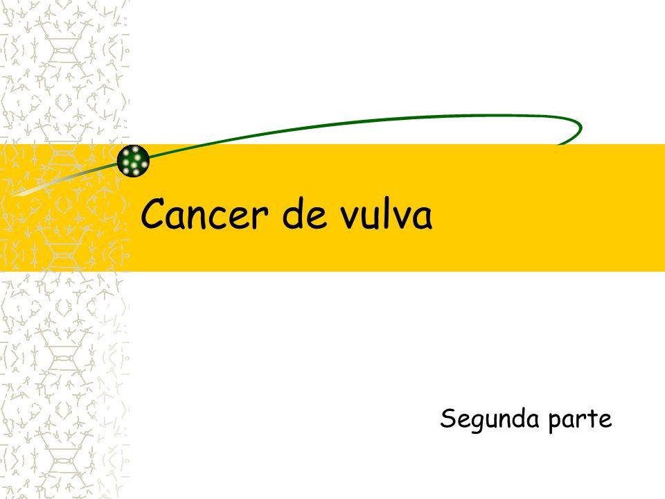 Cancer de vulva Segunda parte