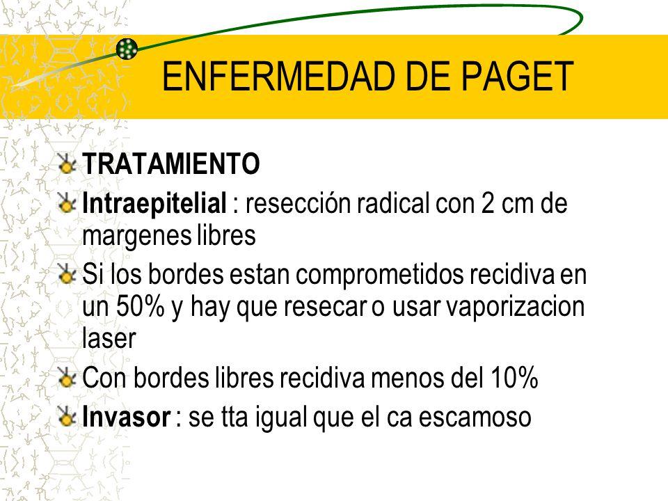 ENFERMEDAD DE PAGET TRATAMIENTO
