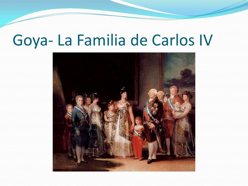 Goya- La Familia de Carlos IV