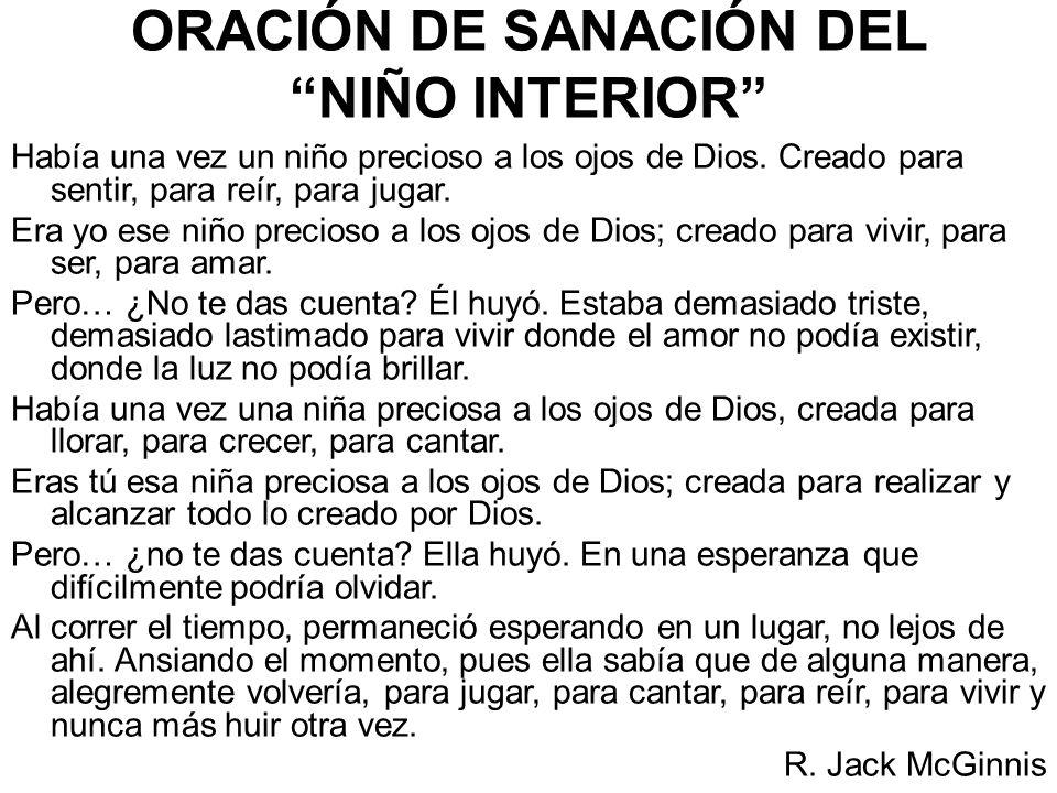 ORACIÓN DE SANACIÓN DEL NIÑO INTERIOR