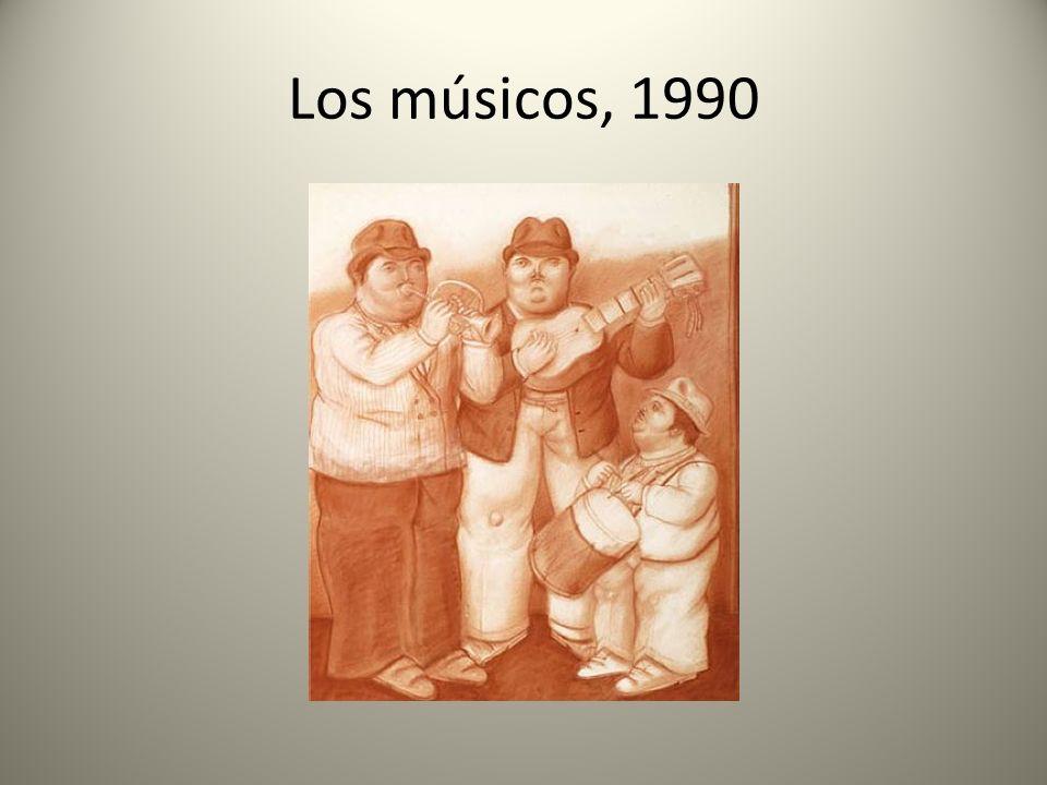Los músicos, 1990