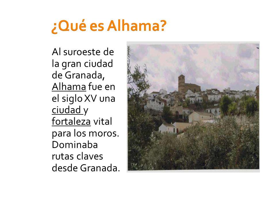 ¿Qué es Alhama