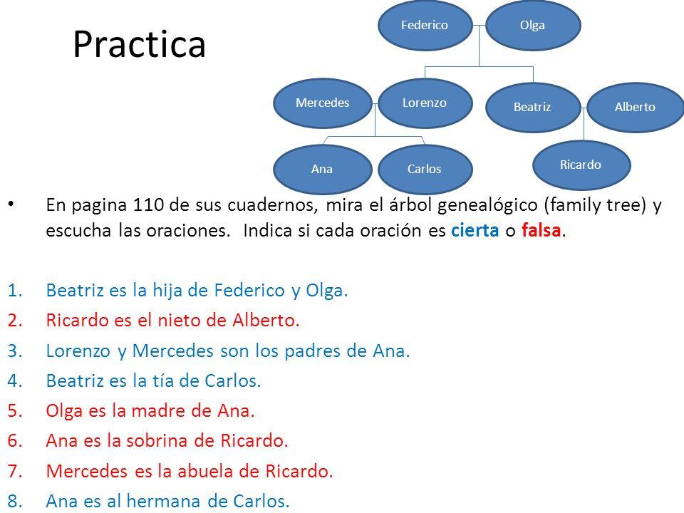 Practica Federico. Olga. Lorenzo. Beatriz. Mercedes. Alberto. Ricardo. Carlos. Ana.