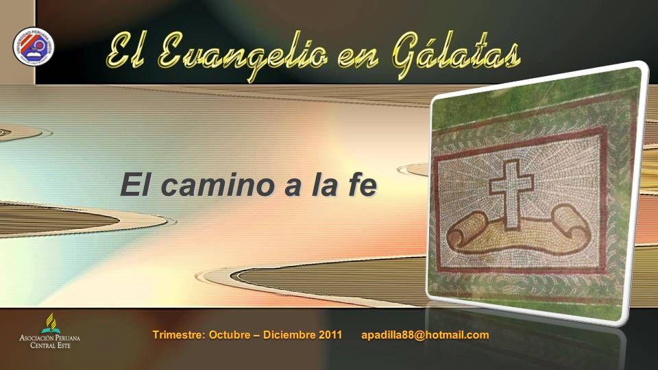 Trimestre: Octubre – Diciembre 2011 apadilla88@hotmail.com