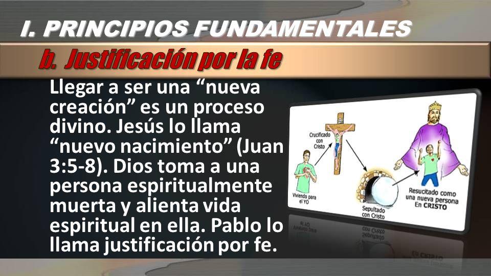 b. Justificación por la fe