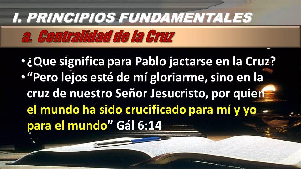 a. Centralidad de la Cruz