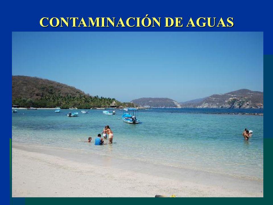 CONTAMINACIÓN DE AGUAS