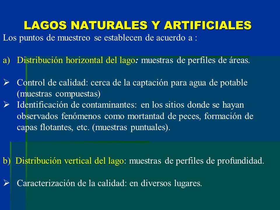 LAGOS NATURALES Y ARTIFICIALES
