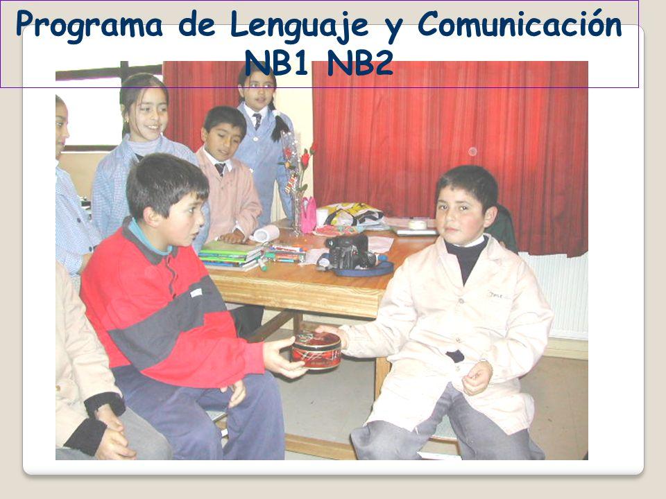 Programa de Lenguaje y Comunicación NB1 NB2