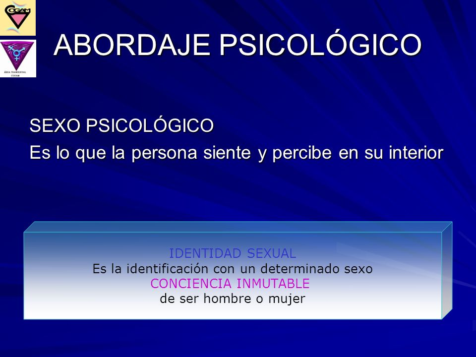 ABORDAJE PSICOLÓGICO SEXO PSICOLÓGICO
