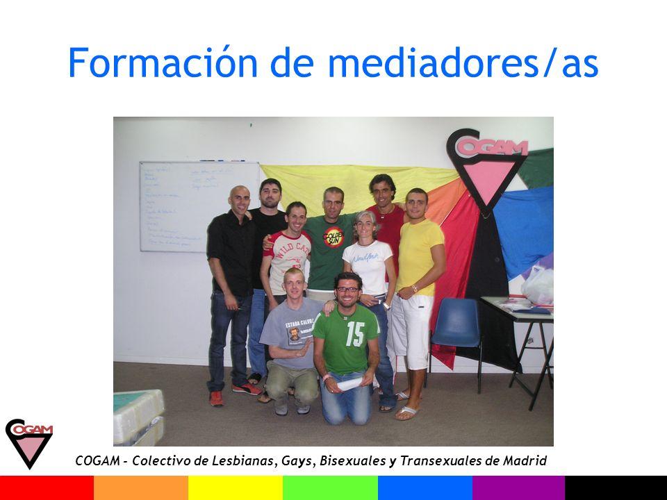 Formación de mediadores/as