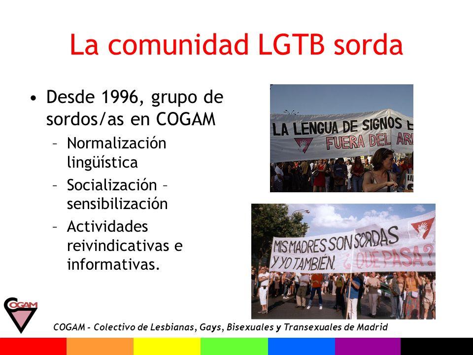 La comunidad LGTB sorda