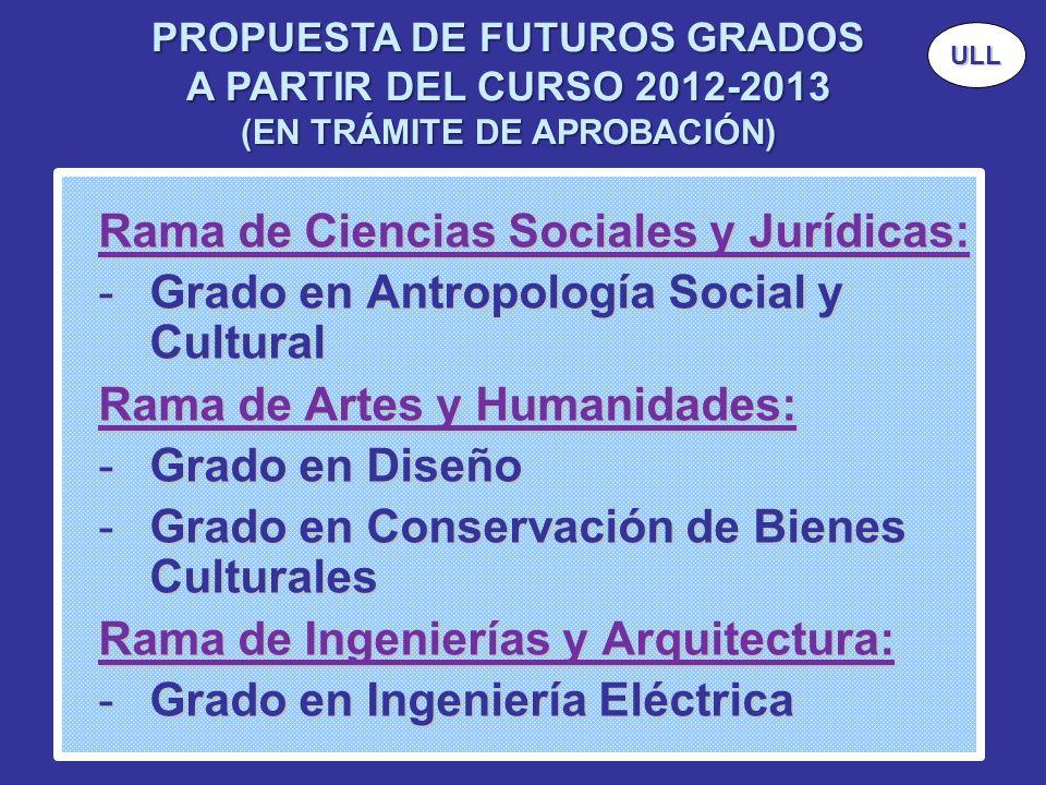 Rama de Ciencias Sociales y Jurídicas: