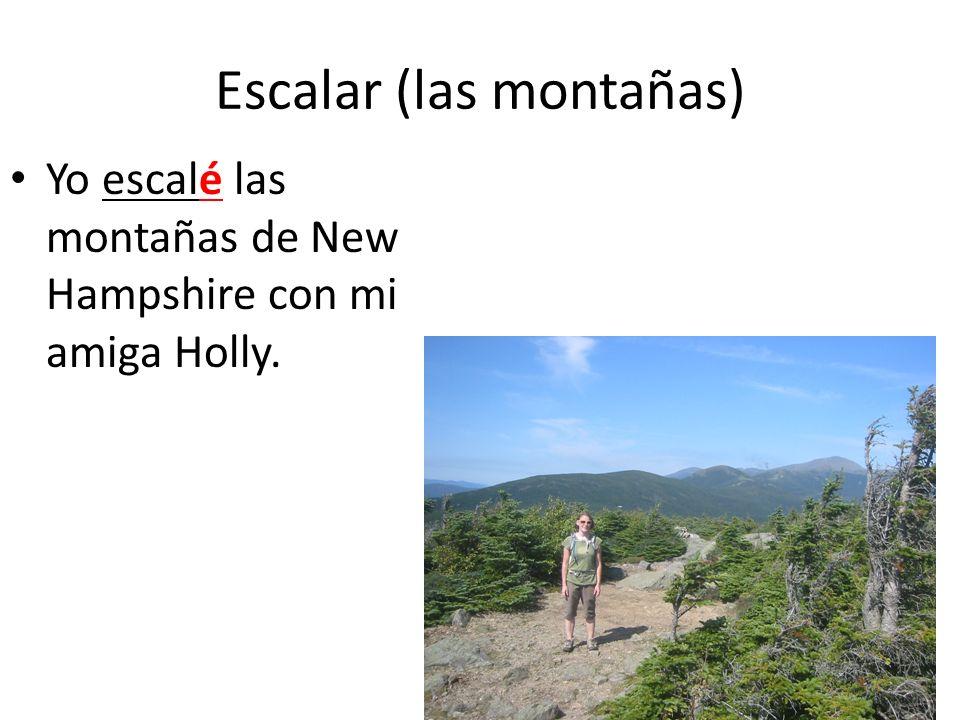 Escalar (las montañas)