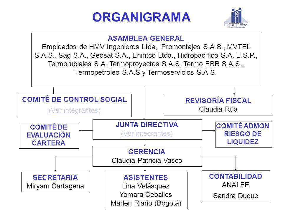 COMITÉ DE CONTROL SOCIAL