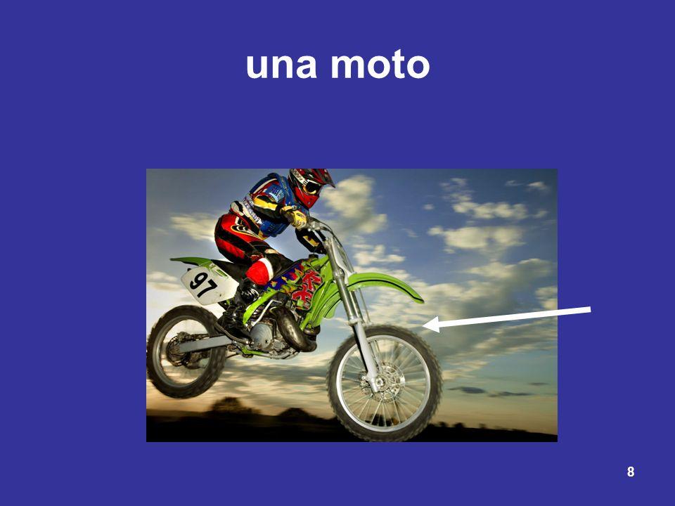 una moto