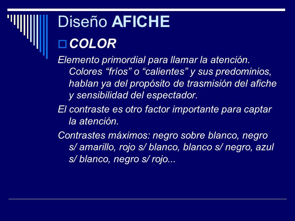Diseño AFICHE COLOR.