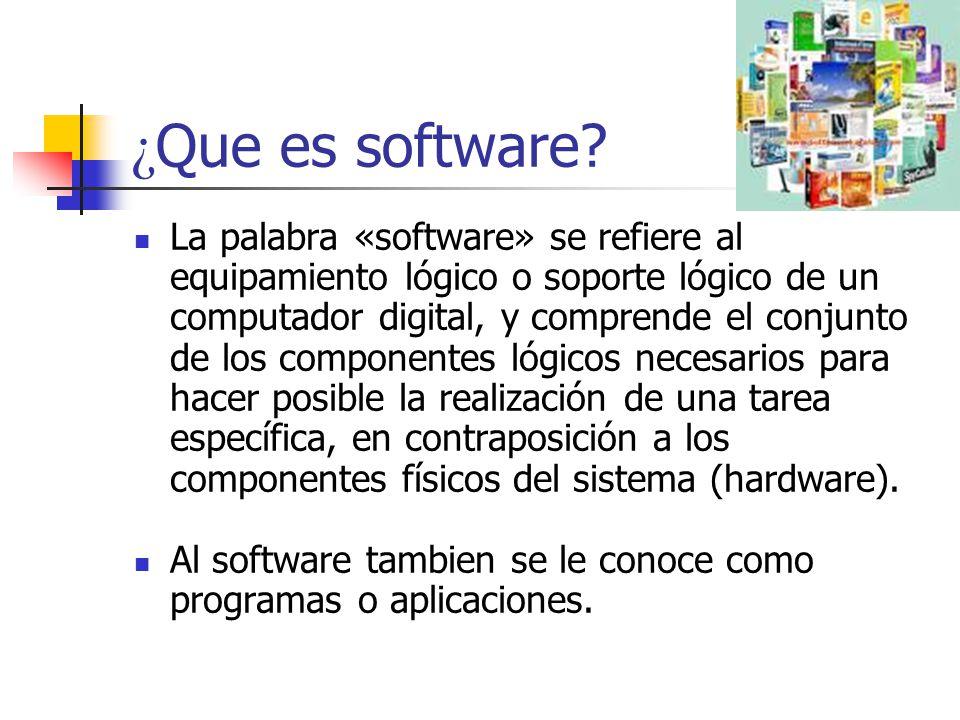 Software ppt descargar for Que significa hardware