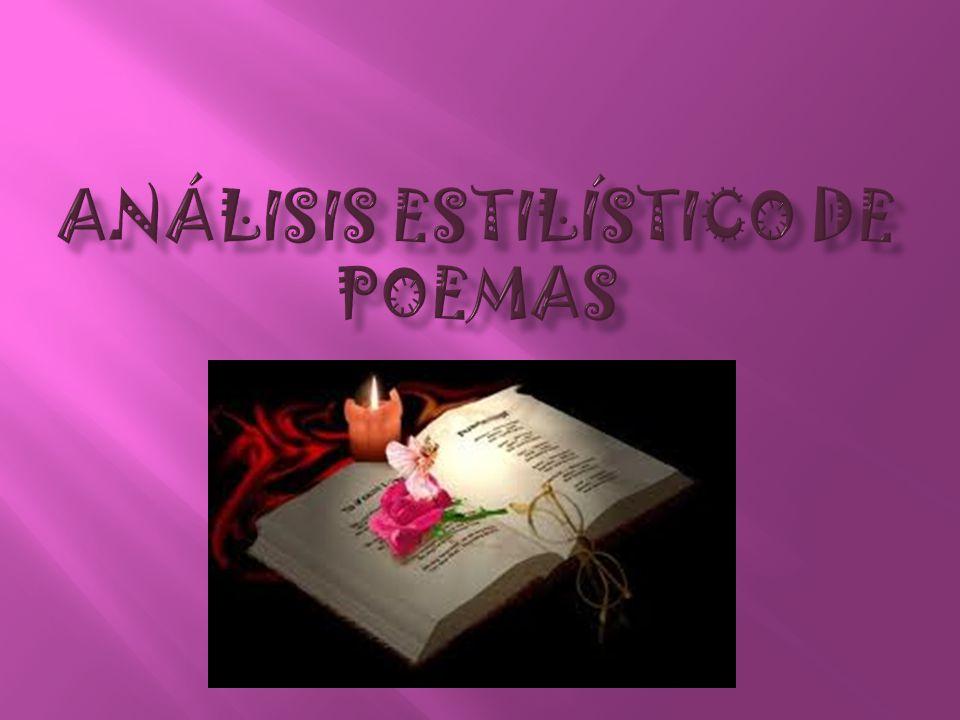 Análisis estilístico de poemas