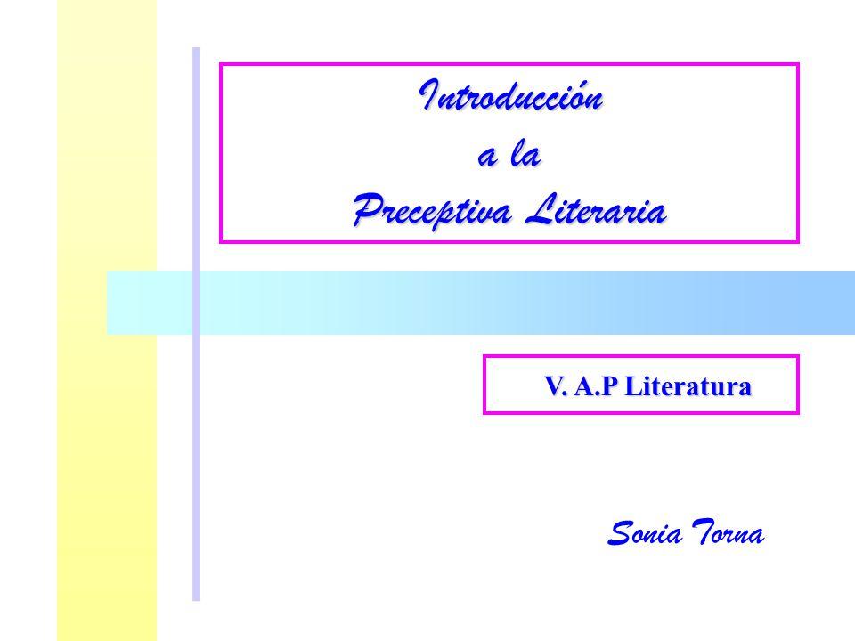 Introducción a la Preceptiva Literaria