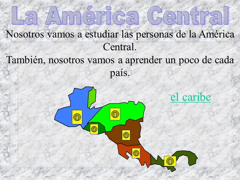 La América Central el caribe