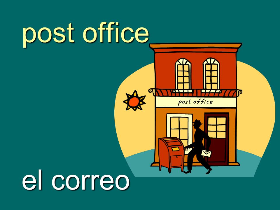 post office el correo