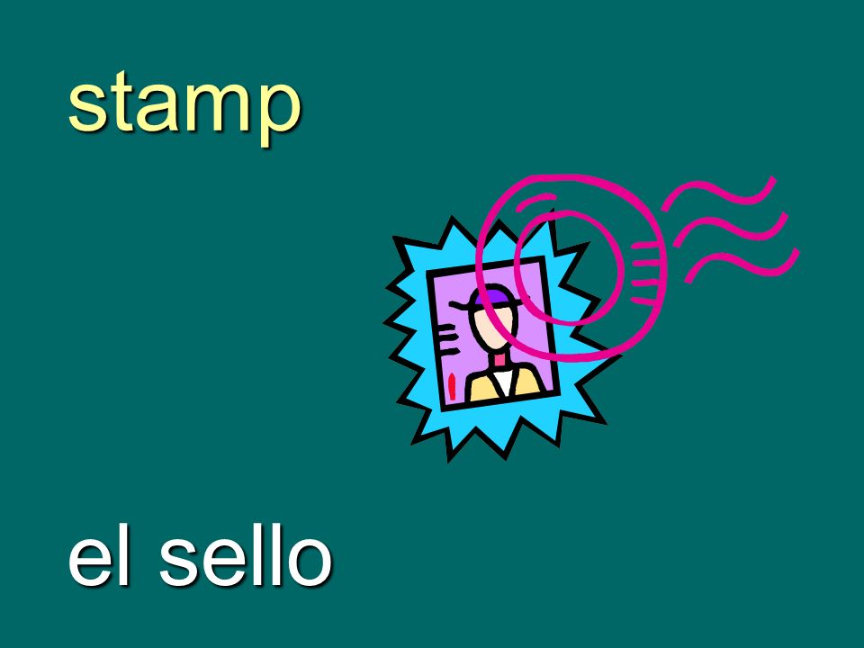 stamp el sello