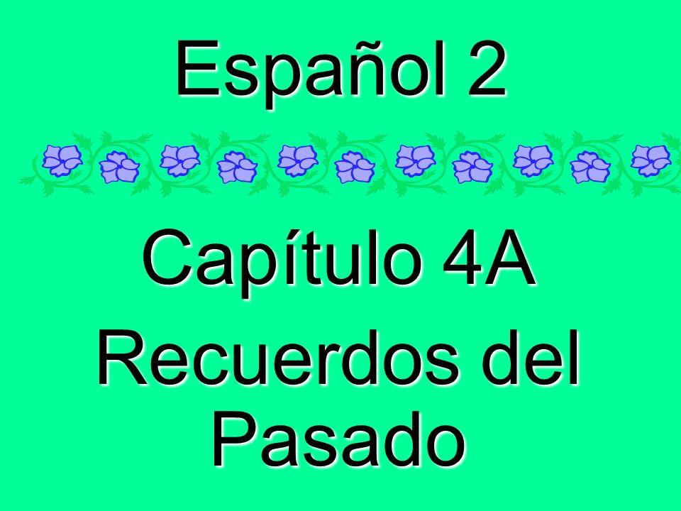 Capítulo 4A Recuerdos del Pasado