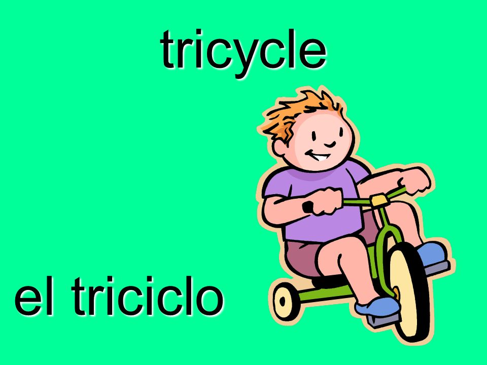 tricycle el triciclo