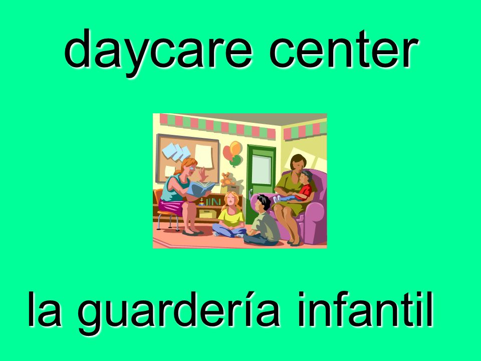 daycare center la guardería infantil
