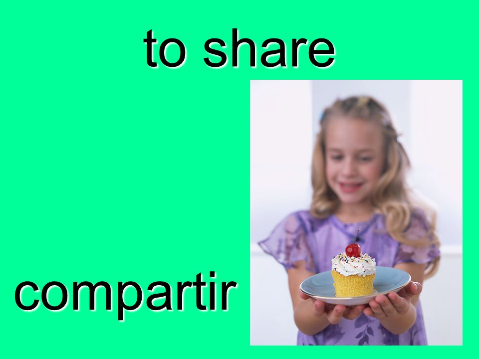to share compartir
