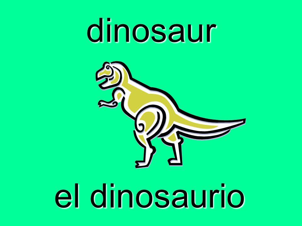 dinosaur el dinosaurio