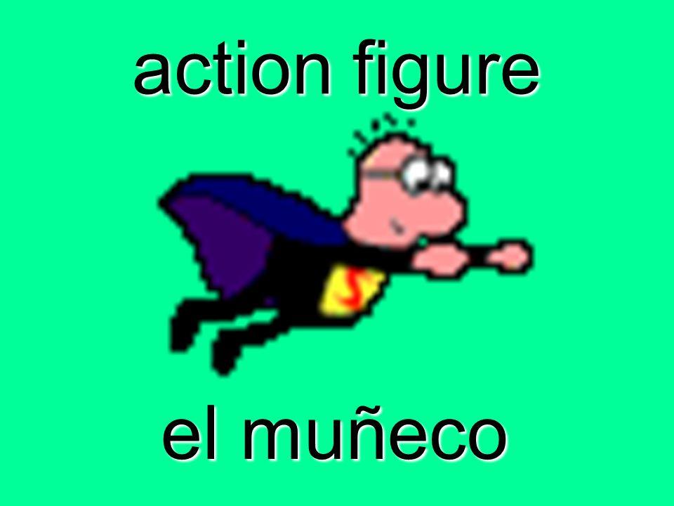 action figure el muñeco