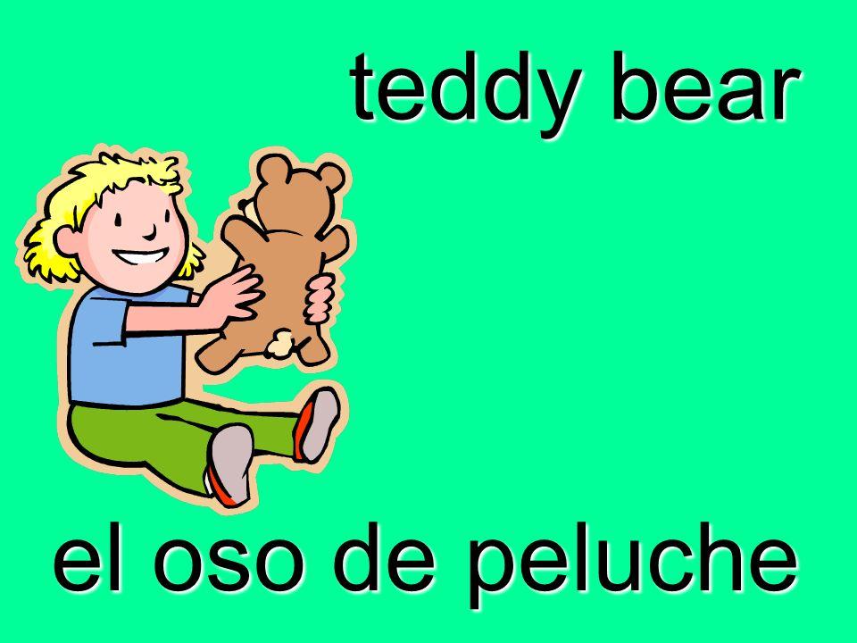 teddy bear el oso de peluche
