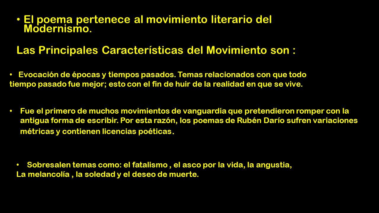 Rubén Darío. « Respuesta #3 : 13 de Junio de 2016, 08:31:12 pm »