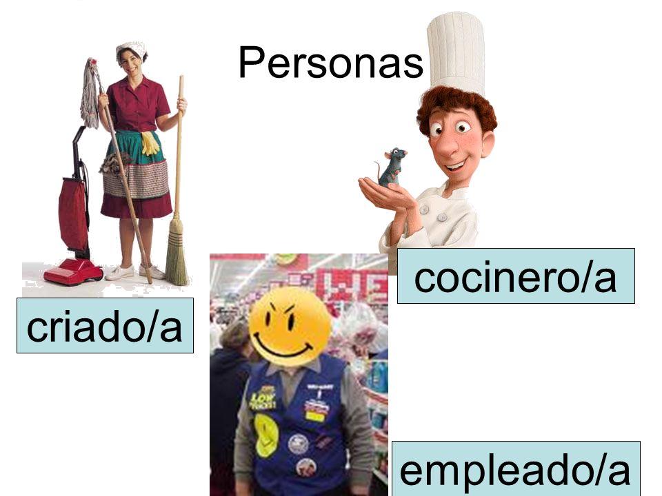 Personas cocinero/a criado/a empleado/a