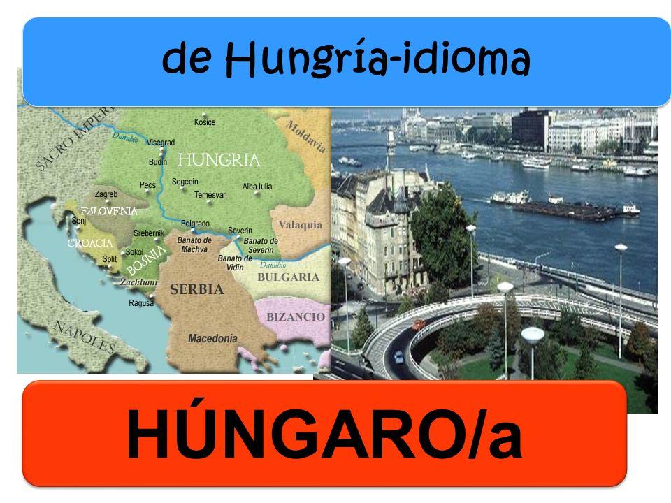 de Hungría-idioma HÚNGARO/a