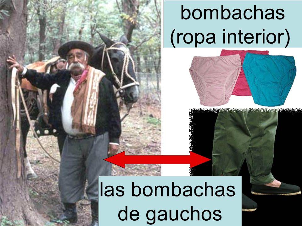 bombachas (ropa interior) las bombachas de gauchos