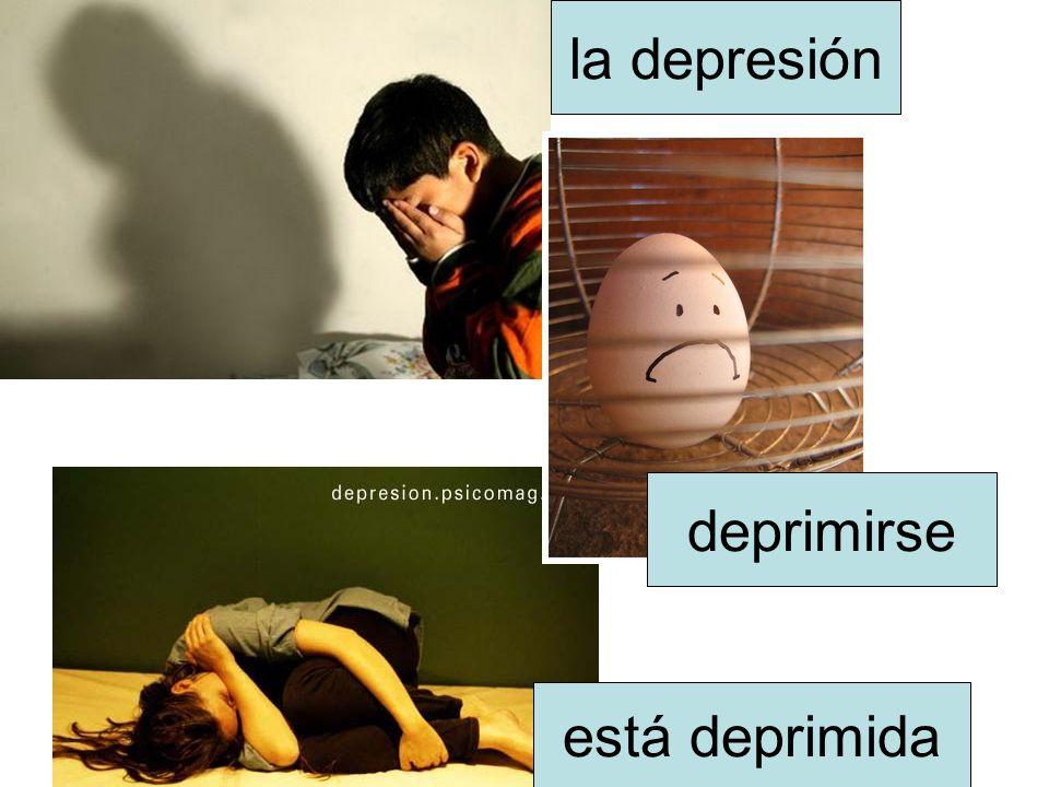 la depresión deprimirse está deprimida