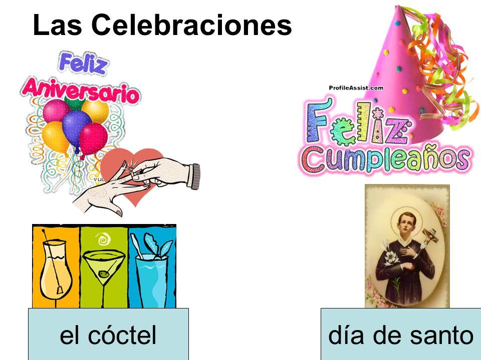 Las Celebraciones el cóctel día de santo