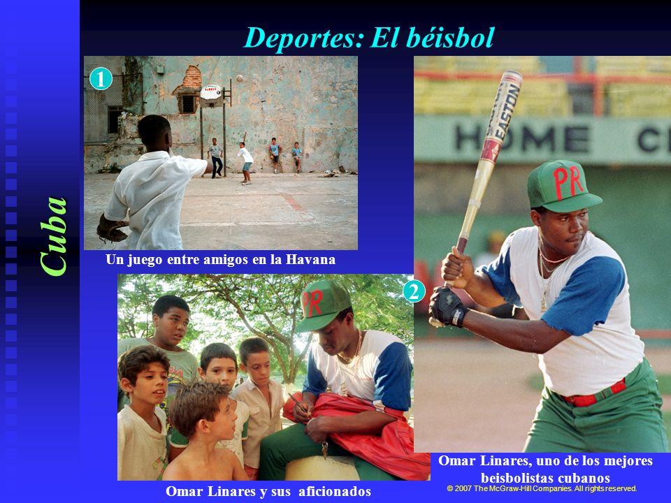 Cuba Deportes: El béisbol 1 2 Un juego entre amigos en la Havana